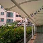 Tenda Membrane Hypar   Kanopi   Imperium Kuningan Jakarta