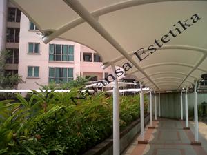 Tenda Membrane Hypar | Kanopi | Imperium Kuningan Jakarta
