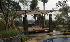 Tenda Membrane Vila Bogor
