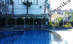 Tenda Membrane Hotel Padjajaran Bogor