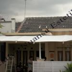 Tenda Membrane Hypar | Kanopi | Rumah Karawang