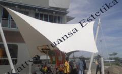 Tenda Membrane KFC Manado