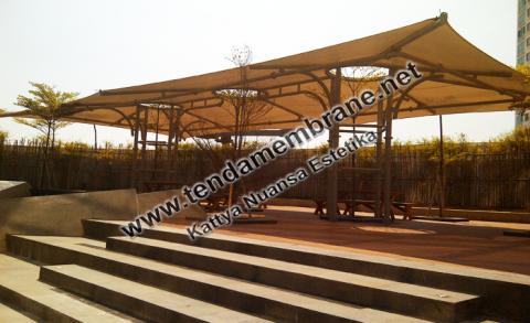 Tenda Membrane – Tenda Membran Alianz Tower