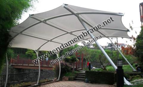Tenda Membrane – Tenda Membran Carport Rumah AA Gatot Bogor