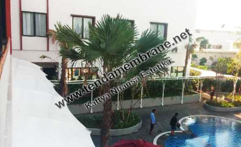 Tenda Membrane – Tenda Membran Hotel Padjajaran Bogor
