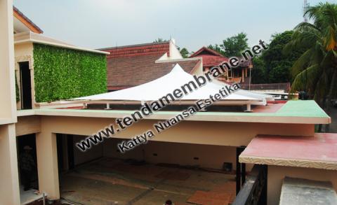 Tenda Membrane – Tenda Membran Rumah Cilandak Jakarta